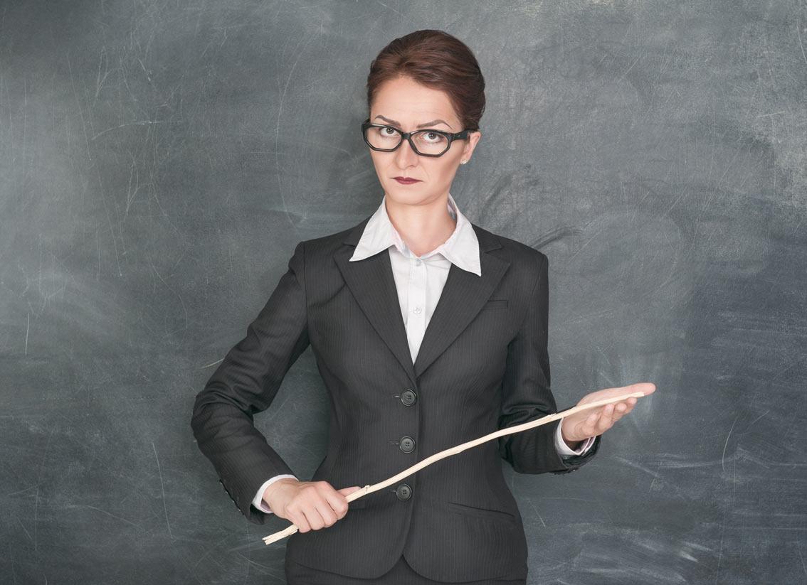 Строгая преподавательница фото 1 фотография